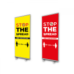covid 19 roller banners